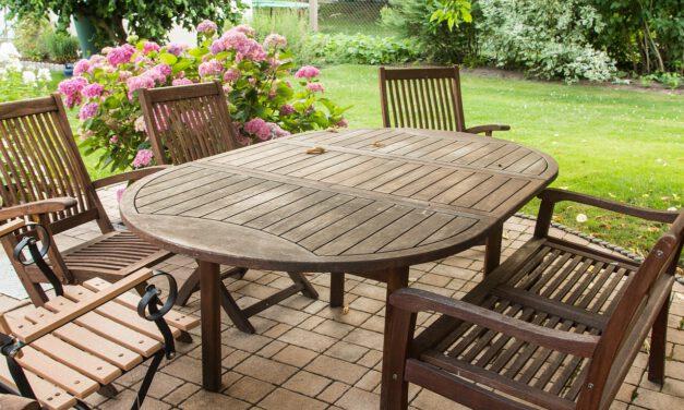 Zahradní nábytek vám zaručí pohodlí